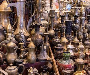 Culture & Nature - Cawa Pots in Souk