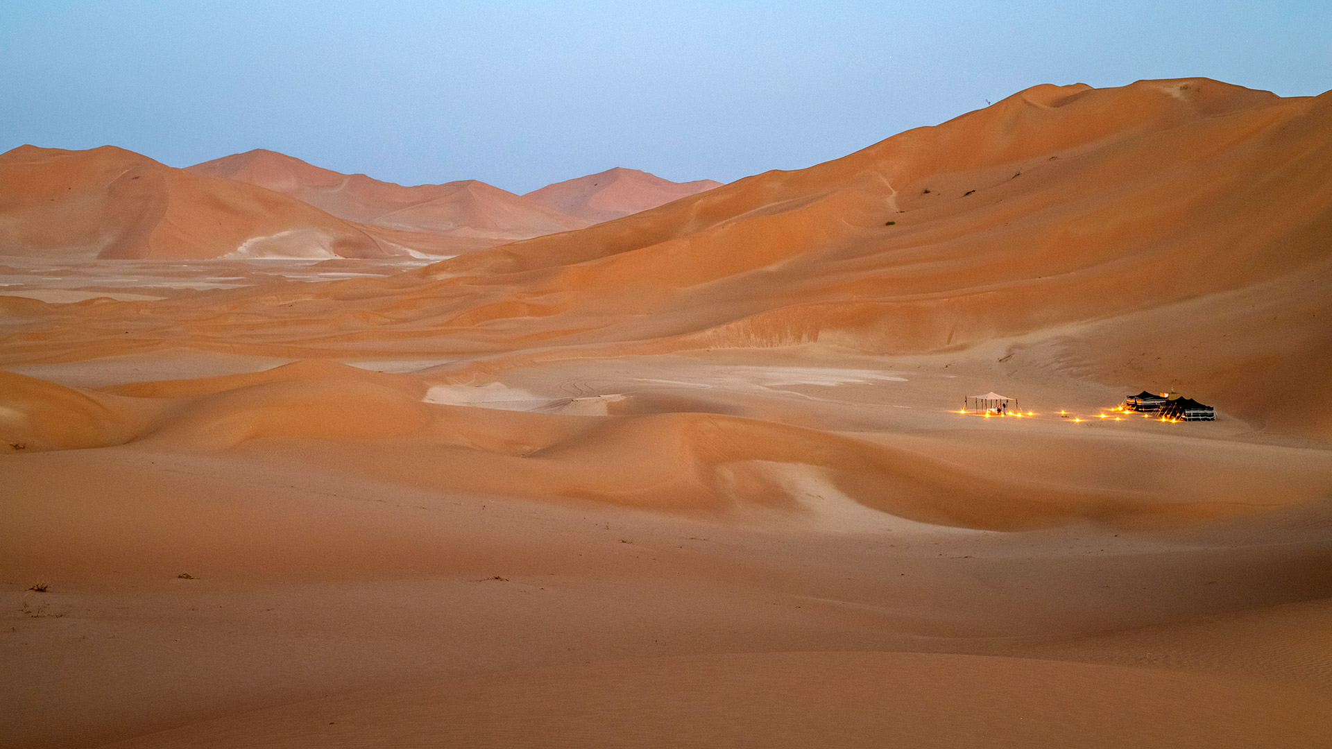 Dusk in the Empty Quarter