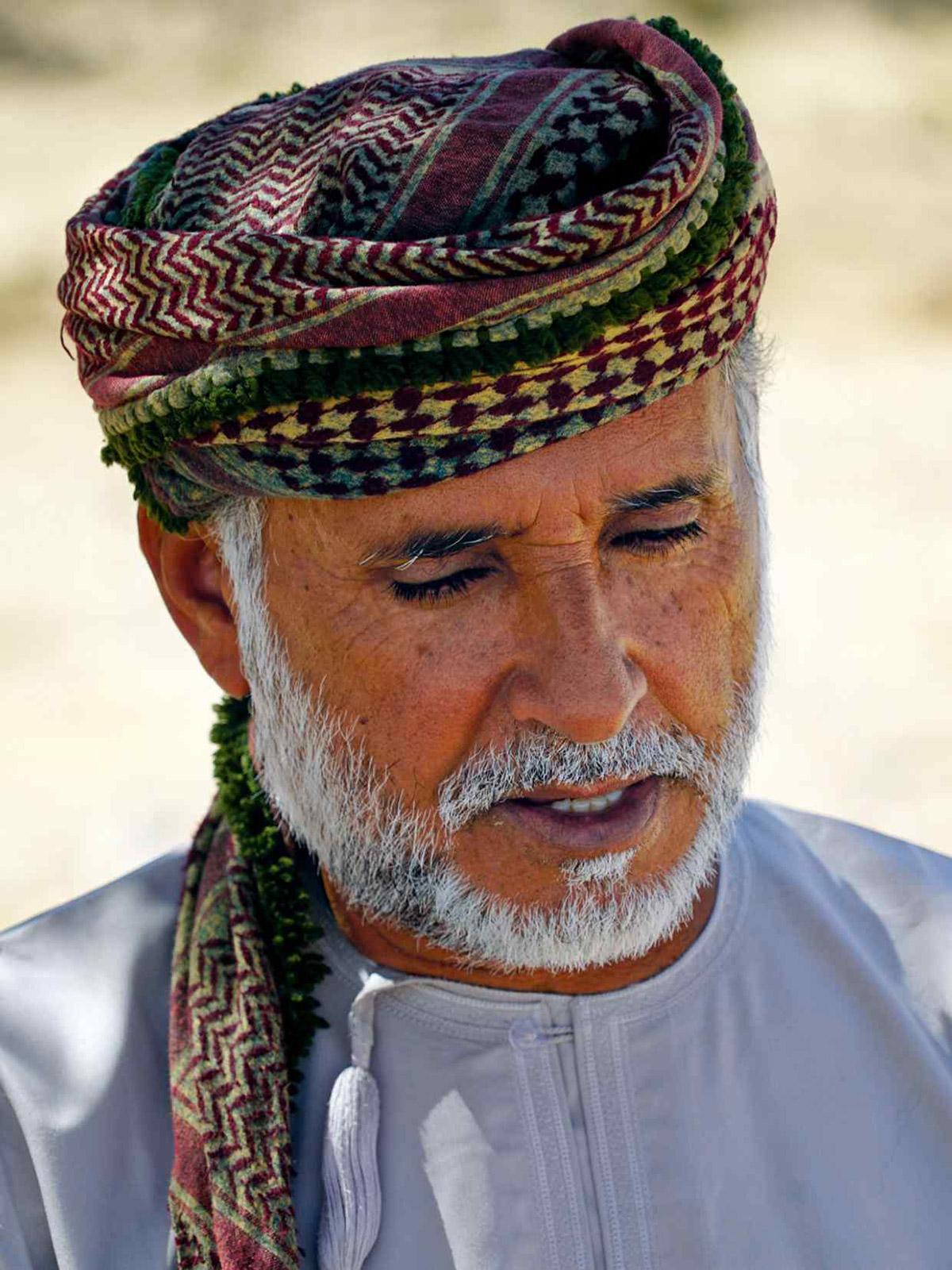 Local Bedu guide Mussallem Al Mahri | Image: Pelorus